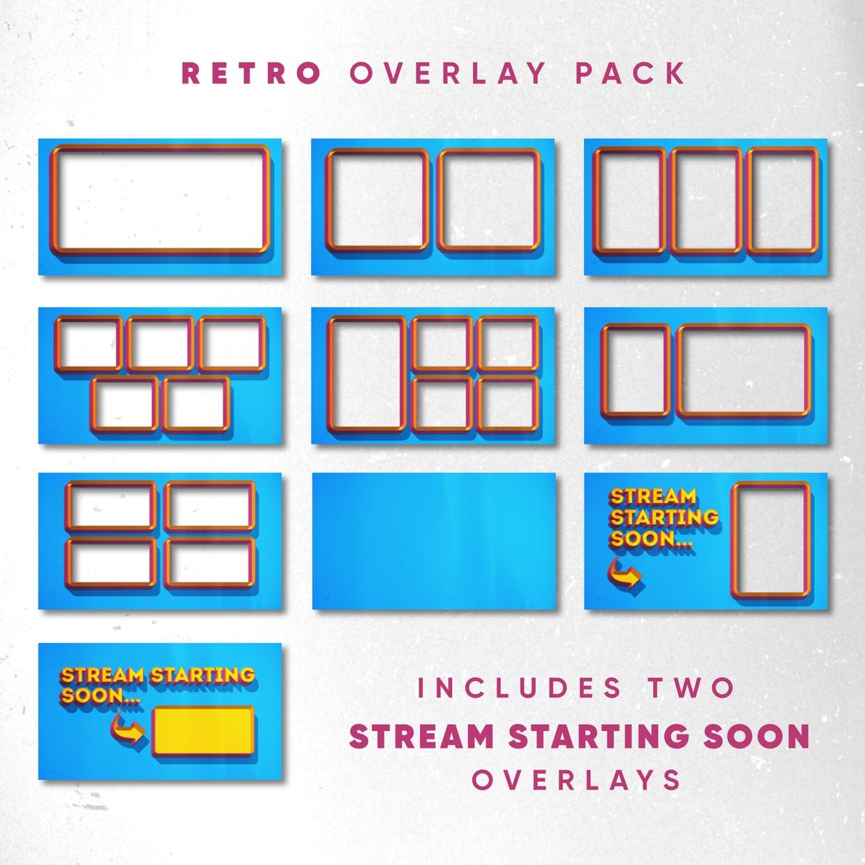 Retro Overlay Pack